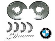 BMW E46 316i-328i REAR SPLASH DISC BRAKE BACK PLATES BRAKE SHOES & FITTINGS