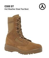BELLEVILLE C300 ST HOT WEATHER STEEL TOE COMBAT BOOTS * ALL SIZES - NEW