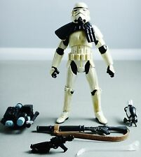 Star Wars: Legacy Collection 2013 Amazon Excl SANDTROOPER (BLACK PAULDRON) Loose