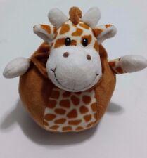 """Babies R Us Geoffrey Giraffe Plush Rattle Ball Toy 2013 EUC 6"""""""
