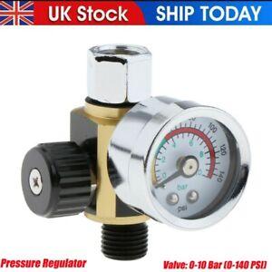 DeVilbiss Gravity Spray Gun Compliant Spraygun Compressor Regulators 0 -10 Bar K