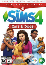 The Sims 4 Cats and Dogs - EA Origin expansion Code - PC & MAC Game Key- CA/US