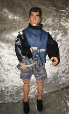 Hasbro Action Man Figure 2001 Male Doll Outfit & Gun Vintage Retro Army Toy