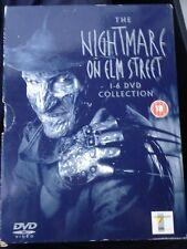 The Nightmare On Elm Street 1-6 DVD Collection 1 2 3 4 5 6, Region 2