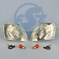 2 Blinker weiss VW Passat 3B links + rechts 3B2 3B5 Blinkleuchten + Leuchtmittel