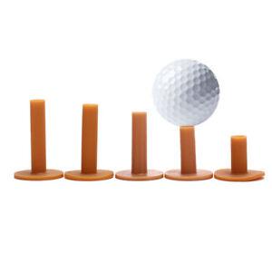 43/54/70/80/83mm Gummi Driving Range Golf Tees Halter Tee Training Practic_SJSCD