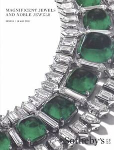 Sotheby's Catalogue Magnificent  Jewels and Noble Jewels 14 may 2019 HB