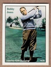 Bobby Jones, Grand Slam Golf Champion very rare NM-MINT condition