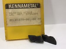 KENNAMETAL NR3078R New Carbide Inserts Grade KC910 10pcs