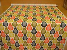 Designer Orla Kiely Scribble Pear Multi Cotton Curtain Upholstery Craft Fabric