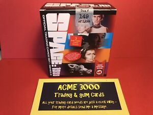 Unstoppable Space 1999 Series 2 - SEALED Box, 36 Card Set + 3x Autograph Cards
