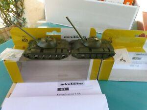 Vend char militaire Minitanks Roco HO 1/87 REF KHz T-54 REF 623