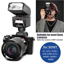 Neewer TTL HSS Slave Blitz mit LED-Videoleuchte für Sony A7 A7S A6000 Kameras