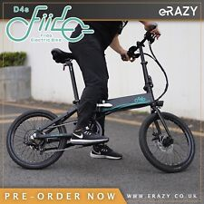 "Fiido D4s 20"" folding electric bike official UK supplier"