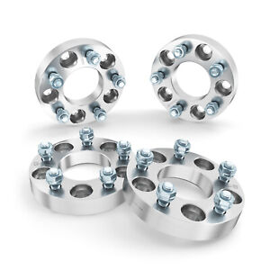 """(4) 1"""" (25mm) Wheel Spacers 5x114.3 