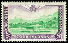 Scott # 135 - 1949 -  ' Mail Plane Landing at Rarotonga Airport '