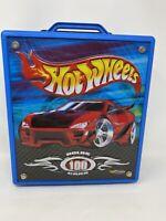 Hot Wheels Speed Shop 100 Car Rolling Carry Case Extendable Handle Mattel20375
