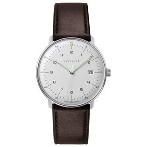 Junghans Men's Max Bill 041/4461.04 Quartz Watch - 041/4461.00 NEW