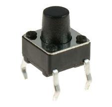 10 X 6x6x7mm momentáneo Mini Push Button Táctil interruptor Pcb montado SPST