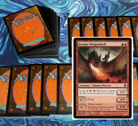 mtg RED AGGRO DECK Magic the Gathering rares 60 cards krenko dragonlord neheb