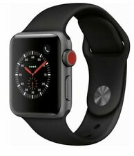 Brand New Apple Watch Series 3 38mm Gray Aluminium Case with Gray Band (GPS)