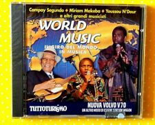 WORLD MUSIC  - IL GIRO DEL MONDO IN MUSICA - CD 2000 EDITORIALE  NUOVO SIGILLATO