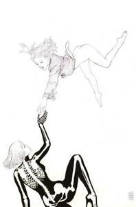 ✋IN HAND✋ KARMEN # 1 Milo MANARA Sketch VIRGIN Variant Black White Guillem MARCH