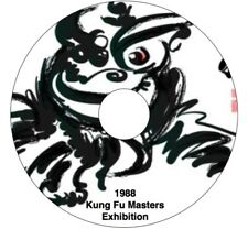 Dvd - 1988 Kung Fu Masters Exhibition