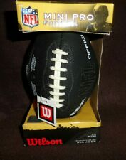 Nfl black mini pro football by Wilson