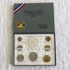 FRANCIA 1973 FLEURS DE MONETE 8 MONETE Campione Set-Sigillato/COMPLETA