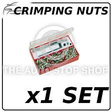 Crimping NUTS Surtido Acero 140 Piezas número De Parte: 2800 (1 Set) todos los vehículos