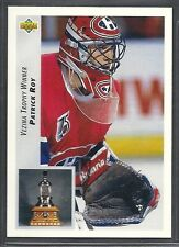 1992-93 Upper Deck Hockey - #438 - Patrick Roy - Montreal Canadiens