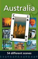 Australian Souvenir Deck of Playing Cards 54 Different Australian Scene