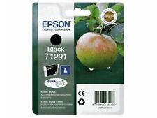 CARTOUCHE EPSON NEUVE T1291 NOIR / T129 pomme noire  renard
