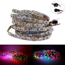 2M 3535 S2812B 60LED S type bendable RGB led pixel strip Addressable DC5V IP20