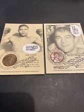 SCARCE 1935-1952 BOXING WHEAT PENNY JOE LOUS & ROCKY MARCIANO OFFICE PROOFS 1/1