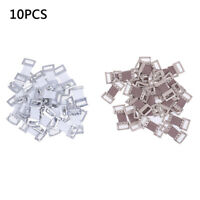 10/30Pcs replacement elastic bandage stretch metal clips fixation clamp hook ei