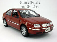 VW Volkswagen Jetta / Bora 2001 1/24 Scale Diecast Metal Model Car - Burgundy