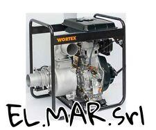 Motopompa Alta Portata 9.6 HP Diesel Autoadescante HW100 pompa irrigazione