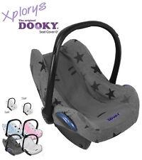 DOOKY Universal-Schonbezug für Babyschale 0/0+ wie Maxi Cosi etc. GREY STARS