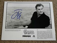 Jude Law Signed 8x10 Press Photo - The Talented Mr. Ripley