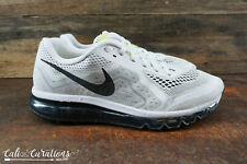 VGC! Nike Air Max 2014 621077-100 Mens Size 13 Running Shoes Gray White Black