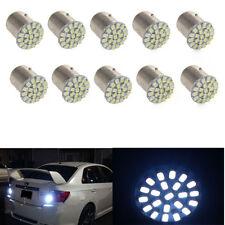 10Pcs White 1157 BAY15D 22 SMD LED Light Bulb Tail Break Stop Turn Signal light