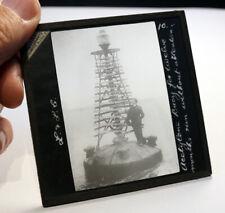 More details for acetylene buoy antique photo magic lantern slide #2107