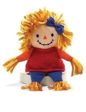 """NWT Gund Twiggy 7"""" Thanksgiving Plush Toy Girl Scarecrow"""