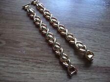 Ladies HIRSCH Bijou 10mm Goldtone Elegant Watch Band