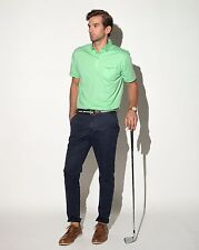 $75 Devereux Golf The BRUNNER Polo XXL 2XL Proper Threads Sea Green NEW w/ TAGS!