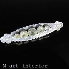 Style Art Déco Argent Broche verre pierres Victorian Diamond Pâte brooch pin pour 1896