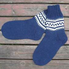 Russian Men's Wool Socks Hand Knitted  Handmade  #4