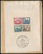 D.Reich Block 1 gestempelt, IPOSTA 1930 mit Befund Schlegel BPP (66912)